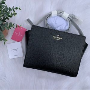 Kate Spade Black Grand Street Hayden Crossbody